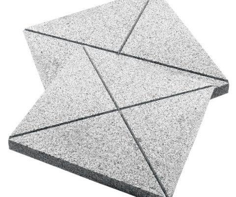 Granit Yakılmış Köşe Derzli Döşeme