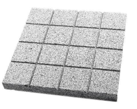Granit Yakılmış Kare Derzli Döşeme