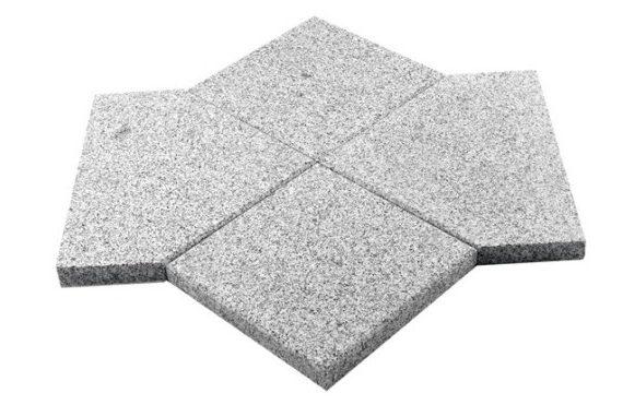 Granit Yakılmış Pahlı Paledyen Döşeme